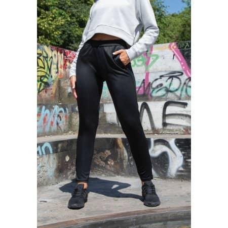 Ladies Slim Leg Training Pants von Tombo (Artnum: TL581