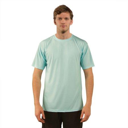 Solar Performance Short Sleeve T-Shirt in Seagrass von Vapor Apparel (Artnum: VA100