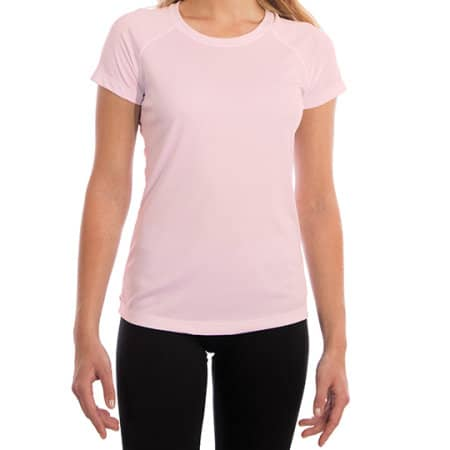 Ladies` Solar Performance Short Sleeve T-Shirt von Vapor Apparel (Artnum: VA150