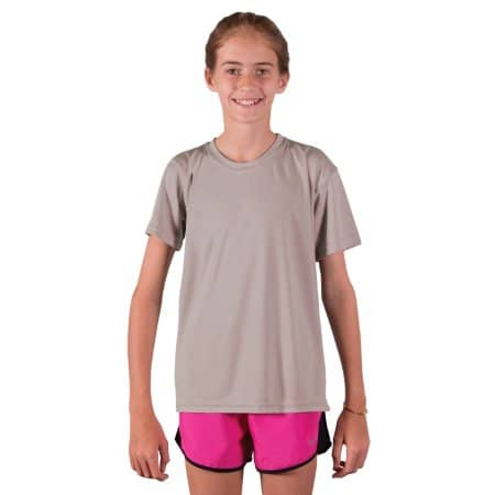 Youth Solar Performance Short Sleeve T-Shirt von Vapor Apparel (Artnum: VA180
