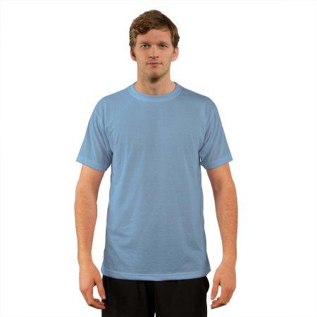Basic Short Sleeve T-Shirt in Blizzard Blue von Vapor Apparel (Artnum: VA500