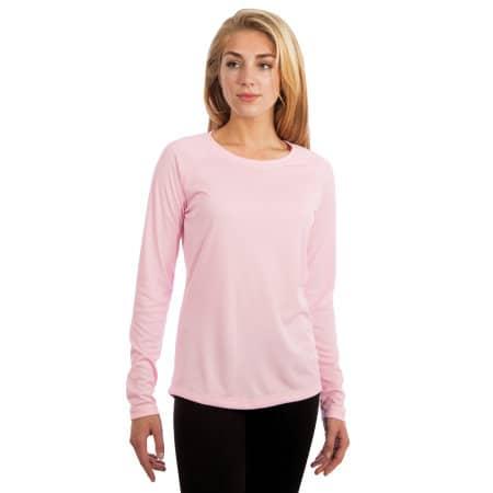 Ladies` Solar Performance Long Sleeve T-Shirt von Vapor Apparel (Artnum: VA750