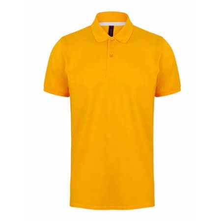 Modern Fit Cotton Microfine-Piqué Polo Shirt von Henbury (Artnum: W101
