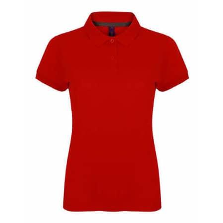 Ladies` Microfine-Piqué Polo Shirt von Henbury (Artnum: W102
