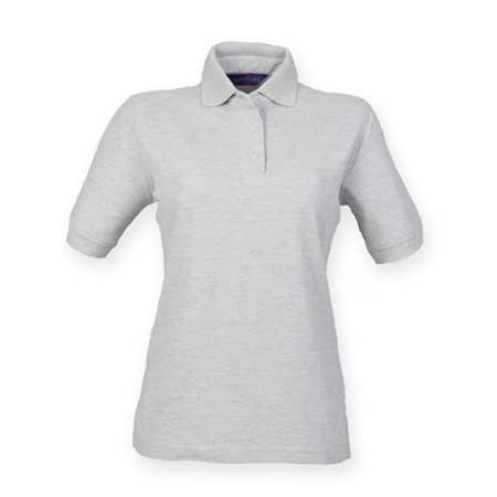 Ladies` 65/35 Classic Piqué Polo Shirt von Henbury (Artnum: W401