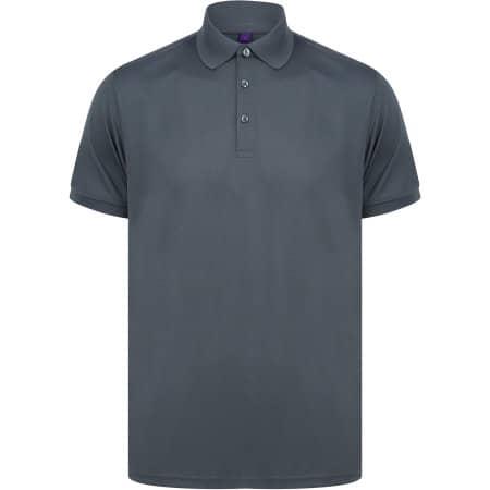 Recycled Polyester Polo Shirt von Henbury (Artnum: W465
