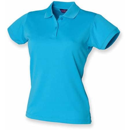 Ladies` Coolplus Wicking Polo Shirt von Henbury (Artnum: W476