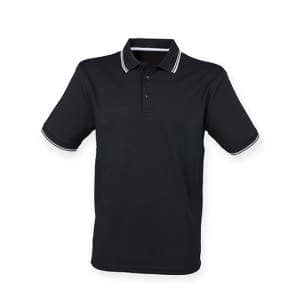 Men's Coolplus® Short Sleeved TippedPolo Shirt