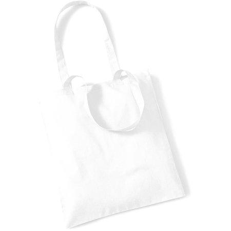 Bag for Life - Long Handles in White von Westford Mill (Artnum: WM101