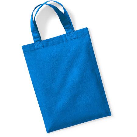 Cotton Party Bag for Life in Sapphire Blue von Westford Mill (Artnum: WM103