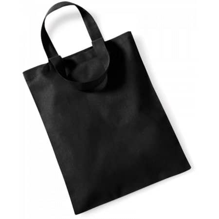 Mini Bag for Life in Black von Westford Mill (Artnum: WM104
