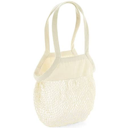 Organic Cotton Mesh Grocery Bag in Natural von Westford Mill (Artnum: WM150