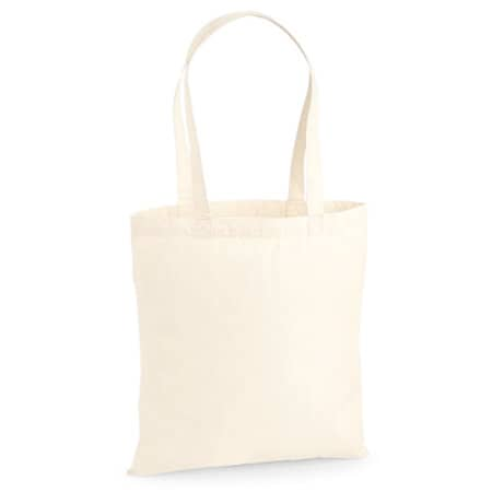 Premium Cotton Bag in Natural von Westford Mill (Artnum: WM201