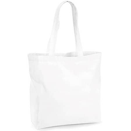 Organic Premium Cotton Maxi Bag in White von Westford Mill (Artnum: WM265