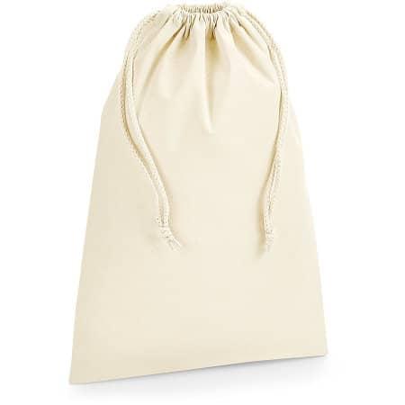 Organic Premium Cotton Stuff Bag von Westford Mill (Artnum: WM266
