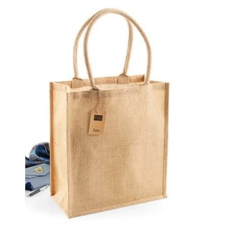 Jute Boutique Shopper von Westford Mill (Artnum: WM409