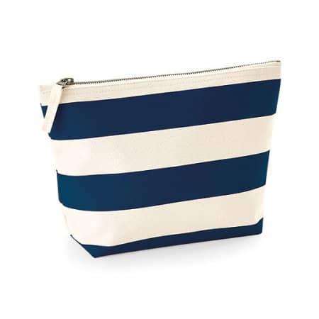 Nautical Accessory Bag in Natural|Navy von Westford Mill (Artnum: WM684
