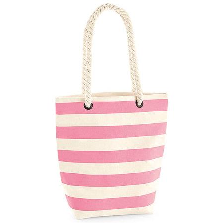 Nautical Bag in Natural Pink von Westford Mill (Artnum: WM685