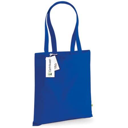 EarthAware™ Organic Bag for Life in Bright Royal von Westford Mill (Artnum: WM801