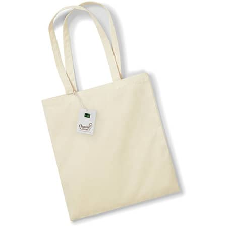 EarthAware™ Organic Bag for Life in Natural von Westford Mill (Artnum: WM801