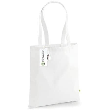 EarthAware™ Organic Bag for Life in White von Westford Mill (Artnum: WM801