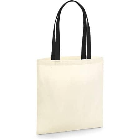 EarthAware™ Organic Bag for Life - Contrast Handles von Westford Mill (Artnum: WM801C