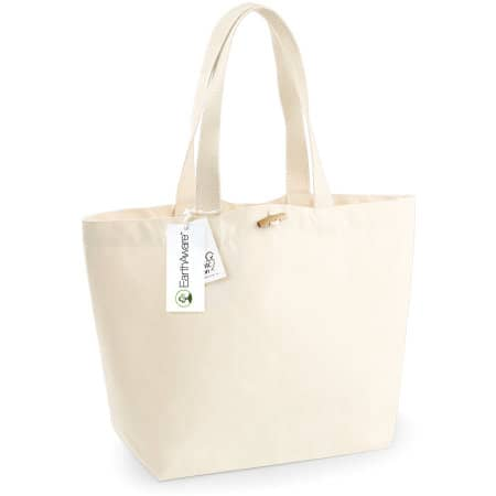 EarthAware™ Organic Marina Bag in Natural von Westford Mill (Artnum: WM850