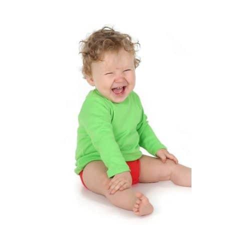 Bio Long Sleeve Baby T-Shirt von Link Kids Wear (Artnum: X955
