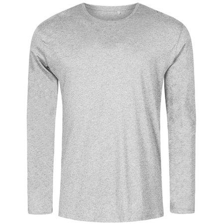 Men´s Roundneck T-Shirt Longsleeve von X.O by Promodoro (Artnum: XO1465
