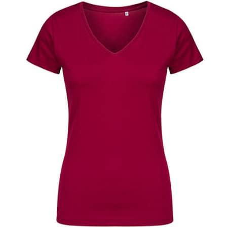 Women´s V-Neck T-Shirt von X.O by Promodoro (Artnum: XO1525