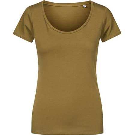 Women´s Deep Scoop T-Shirt von X.O by Promodoro (Artnum: XO1545