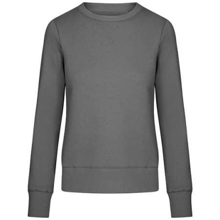 X.O Sweater Women in Steel Grey (Solid) von X.O by Promodoro (Artnum: XO1790