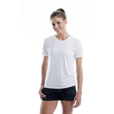 Women`s Subli Plus® Round Neck T-Shirt von Xpres (Artnum: XP523