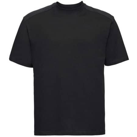 Workwear T-Shirt in Black von Russell (Artnum: Z010