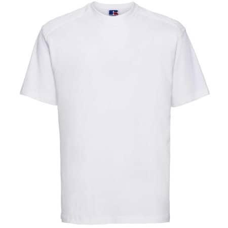 Workwear T-Shirt in White von Russell (Artnum: Z010