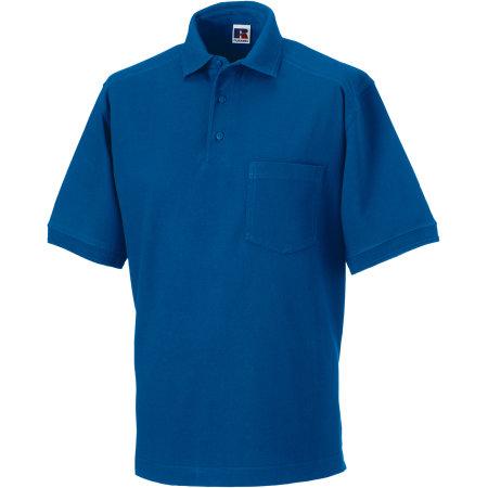 Workwear-Poloshirt in Bright Royal von Russell (Artnum: Z011