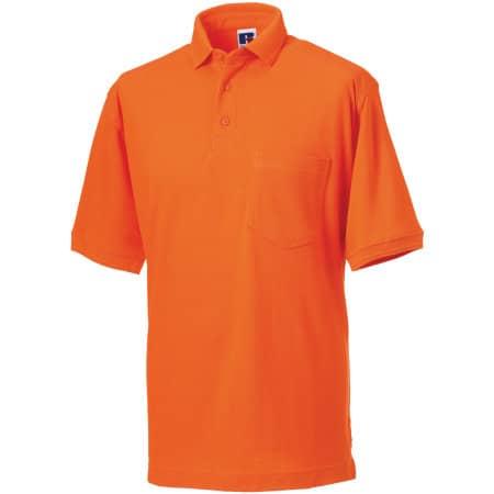 Workwear-Poloshirt von Russell (Artnum: Z011