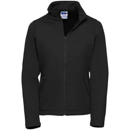 Ladies` SmartSoftshell Jacket in Black von Russell (Artnum: Z040F