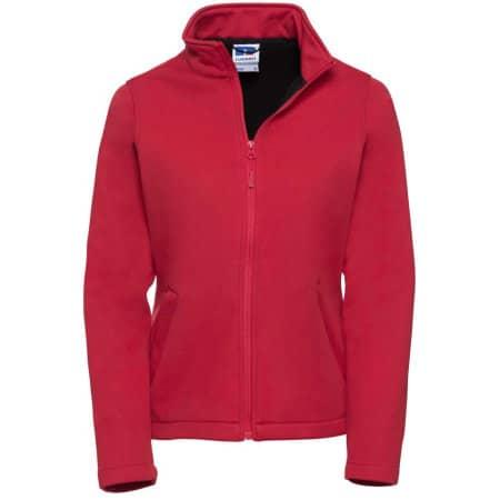 Ladies` SmartSoftshell Jacket in Classic Red von Russell (Artnum: Z040F