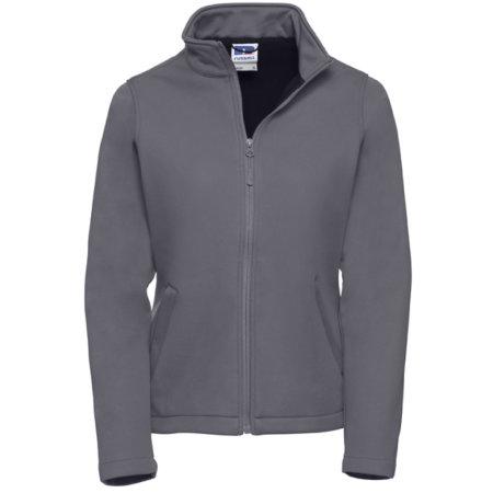 Ladies` SmartSoftshell Jacket in Convoy Grey (Solid) von Russell (Artnum: Z040F