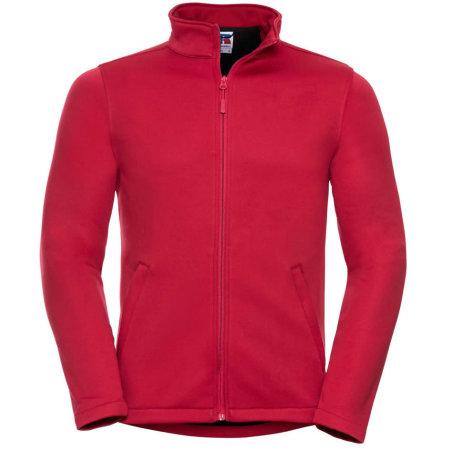 Men`s SmartSoftshell Jacket in Classic Red von Russell (Artnum: Z040M