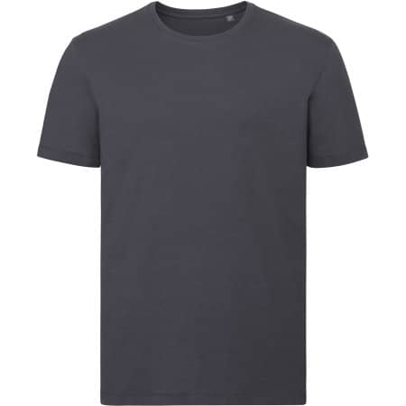 Men`s Authentic Tee Pure Organic in Convoy Grey (Solid) von Russell Pure Organic (Artnum: Z108M