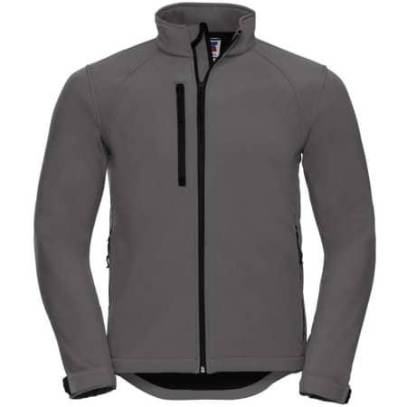 Softshell-Jacket in Titanium (Solid) von Russell (Artnum: Z140