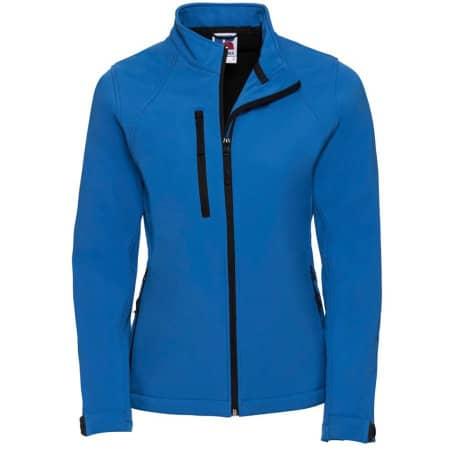 Ladies` Softshell-Jacket in Azure Blue von Russell (Artnum: Z140F