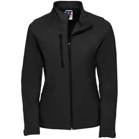 Ladies` Softshell-Jacket in Black von Russell (Artnum: Z140F