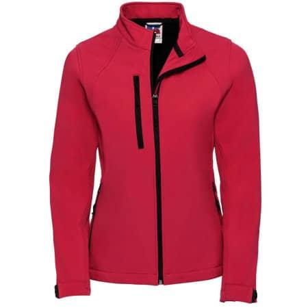 Ladies` Softshell-Jacket in Classic Red von Russell (Artnum: Z140F