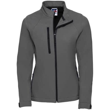 Ladies` Softshell-Jacket in Titanium (Solid) von Russell (Artnum: Z140F