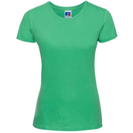 Ladies` Slim T in Apple von Russell (Artnum: Z155F
