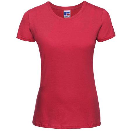 Ladies` Slim T in Classic Red von Russell (Artnum: Z155F
