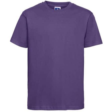 Kids` Slim T-Shirt von Russell (Artnum: Z155K